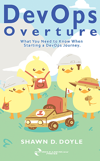 DevOps Overture book cover