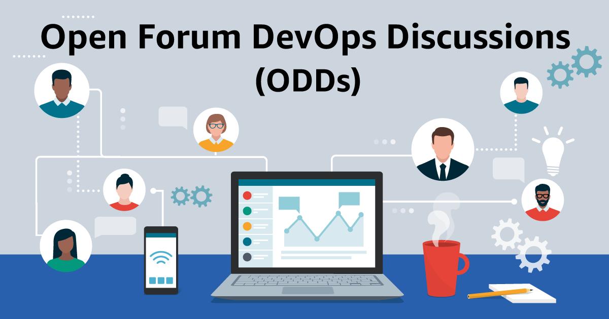 Open Forum DevOps Discussions graphic